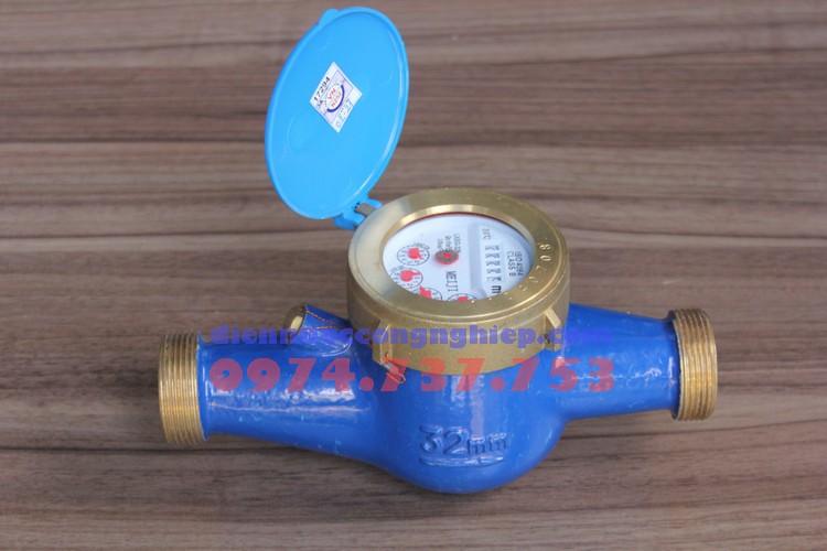 Đồng hồ đo lưu lượng Meiji nối ren