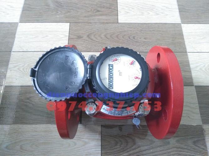 Đồng hồ đo lưu lượng nước nóng Sensus nối bích
